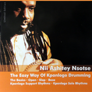 The Easy Way of Kpanlogo Drumming - DVD-Cover